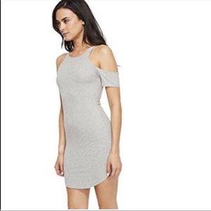 LNA tight gray dress
